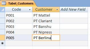Contoh DataBase dengan Ms. Access 2007 (3/6)