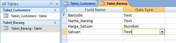 Contoh DataBase dengan Ms. Access 2007 (4/6)
